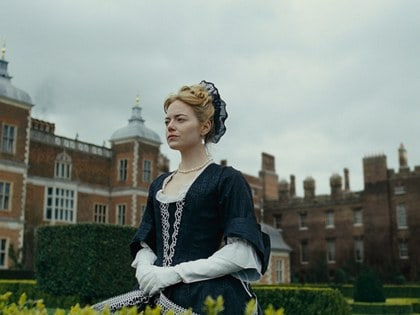 The Favourite starring Emma Stone