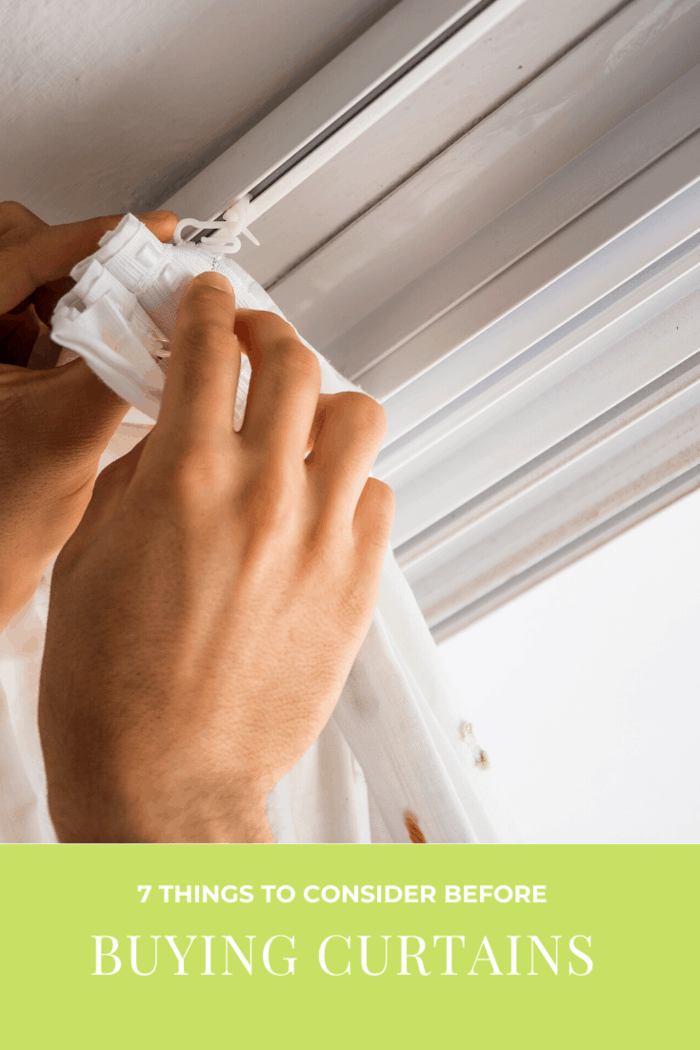 If you are planning to install the curtains on your own, then allow us to tell you that you should know what you are putting yourself into.