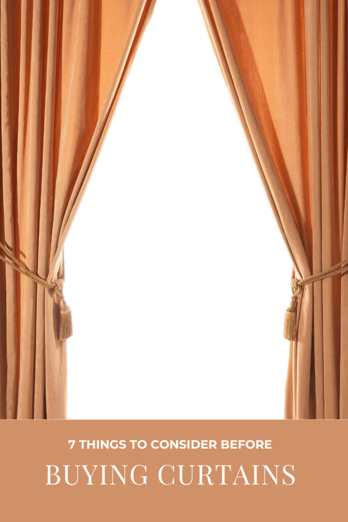 When it comes to beautiful home treatment, curtains are just the tip of the iceberg.