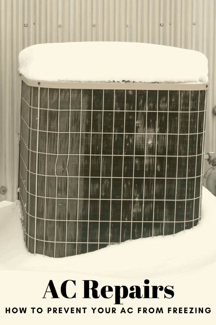 All air conditioning units have the risk of freezing up at some point, but it doesn't have to be a huge concern as long as you take proper steps to prevent freezing.