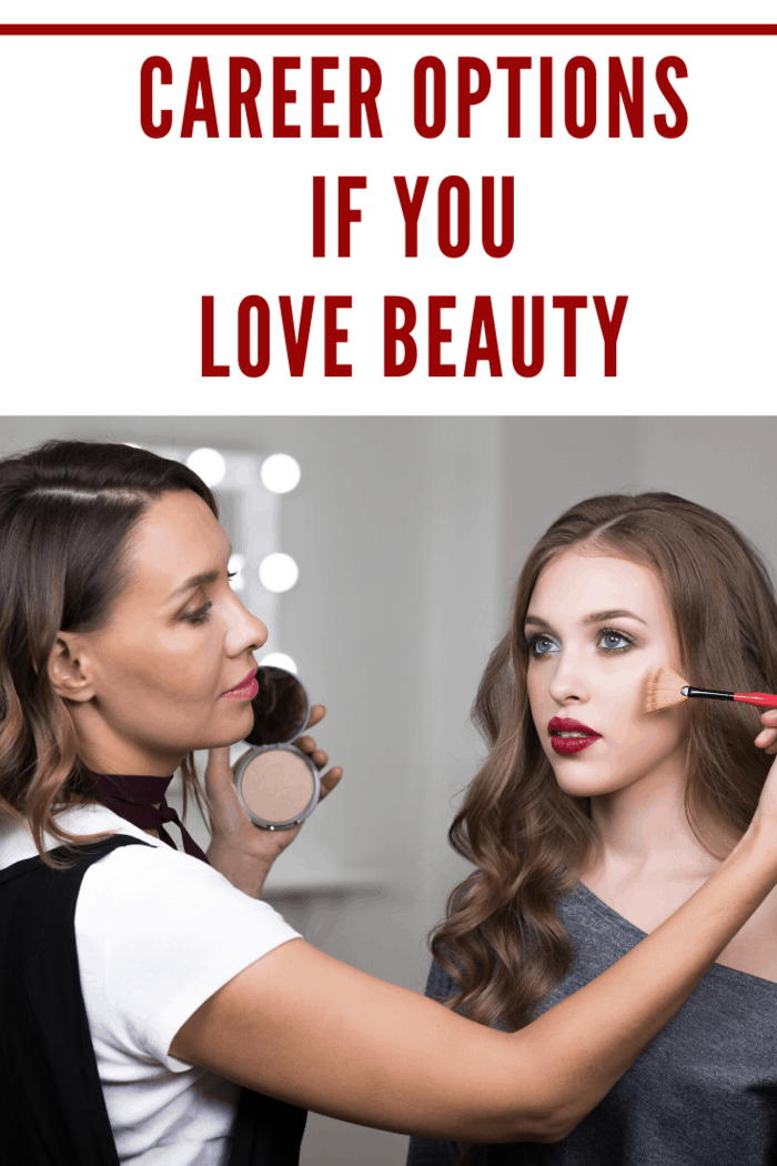 One of the most popular job opportunities in beauty is a makeup artist.