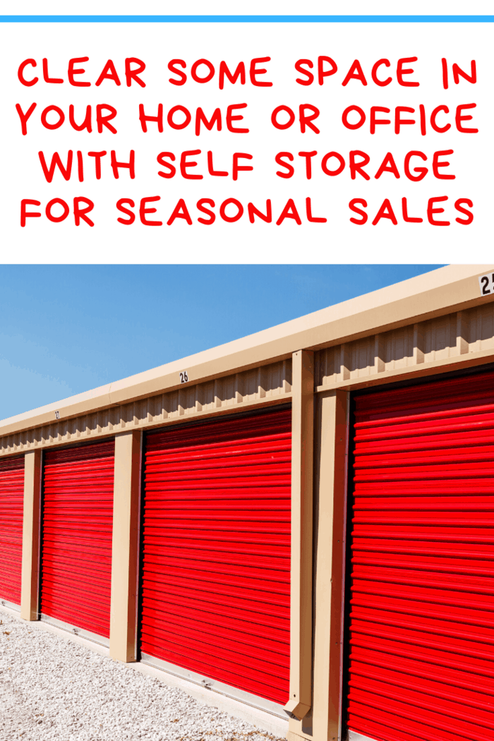 Read about how self-storage can help the seasonal side of your business thrive while keeping your office or home storage space free from clutter.