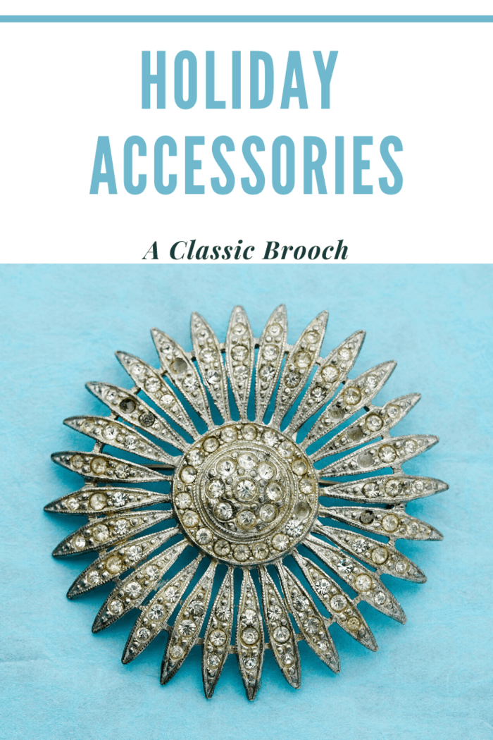 a classic brooch is neither outdated nor goes out of style.