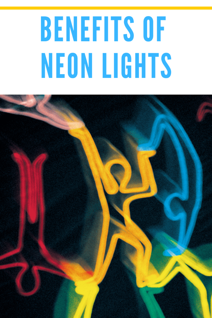 There's a distinctive characteristic of a neon's glow that makes it attractive to the human eye.