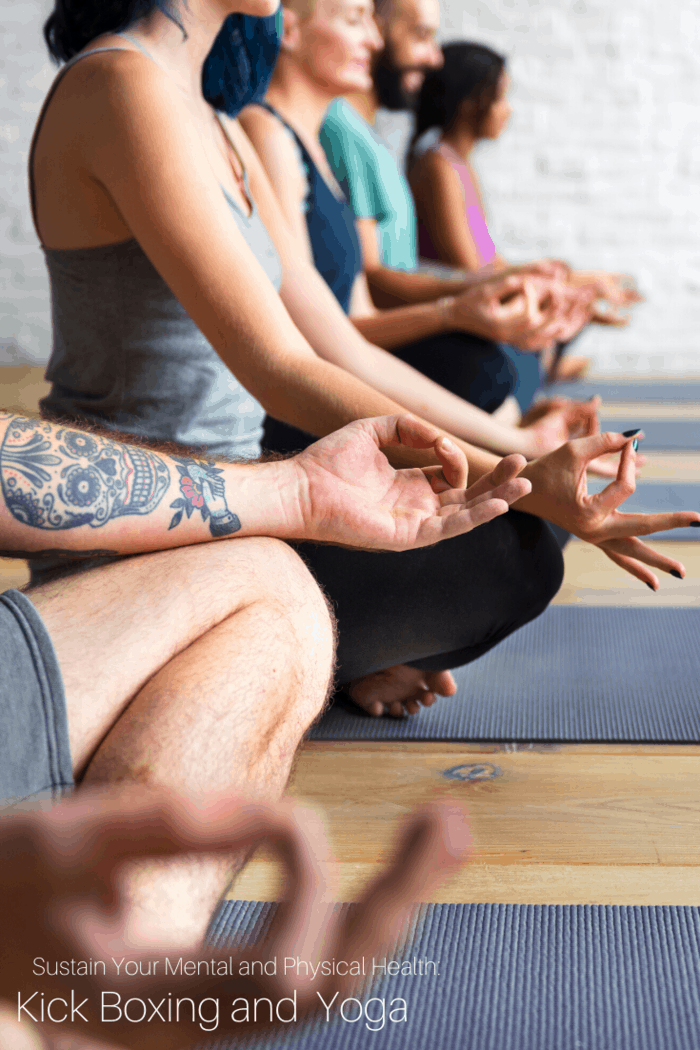 Both Kickboxing and Yoga are extremely two different disciplines, yet they have a similar approach- Achieving wellness with a full-body approach.