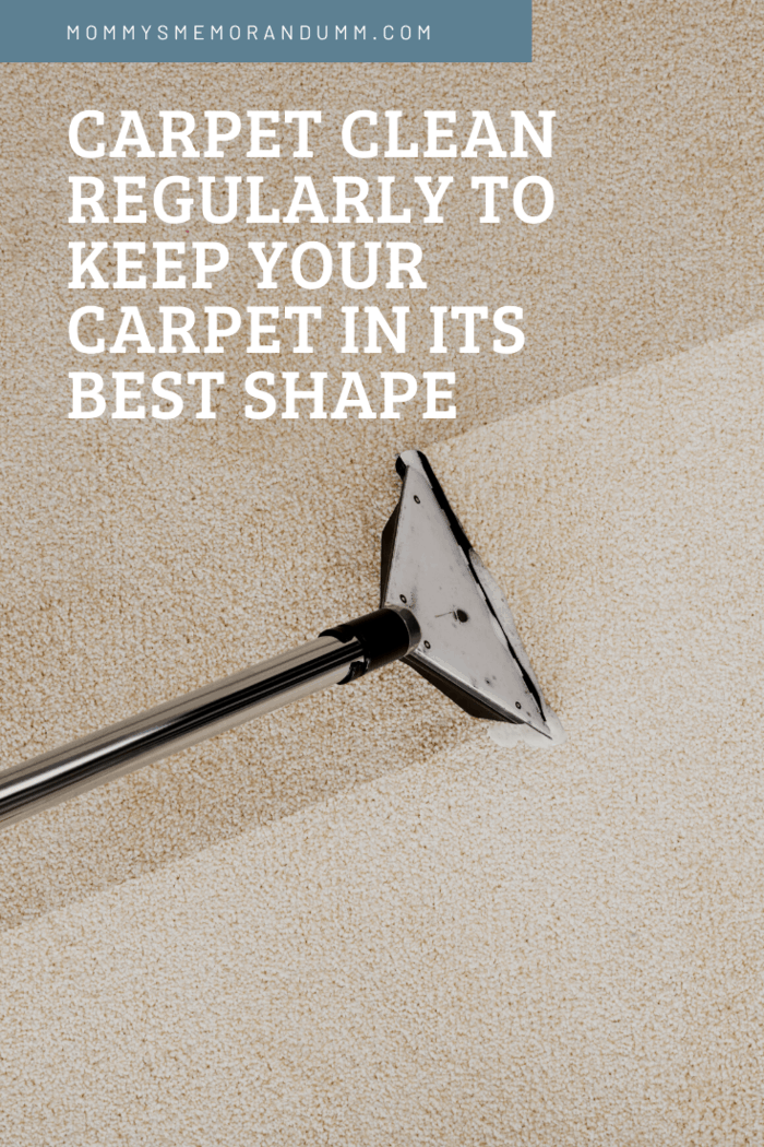Carpet cleaning can help remove any existing dirt and keep the carpeting in ideal shape at the same time.
