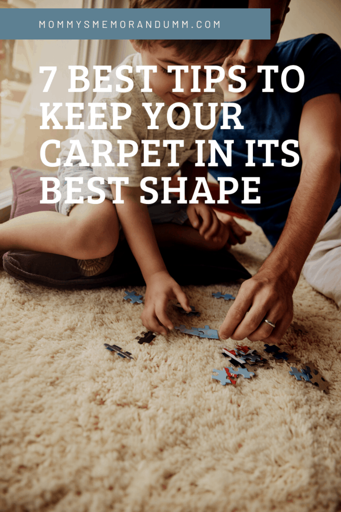 These easy ideas will help any room look and feel even better to the eyes and the feet and keep your carpet in its best shape.