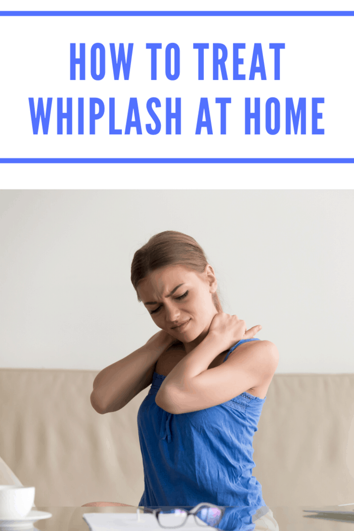 you can learn how to treat whiplash at home with a few simple tips