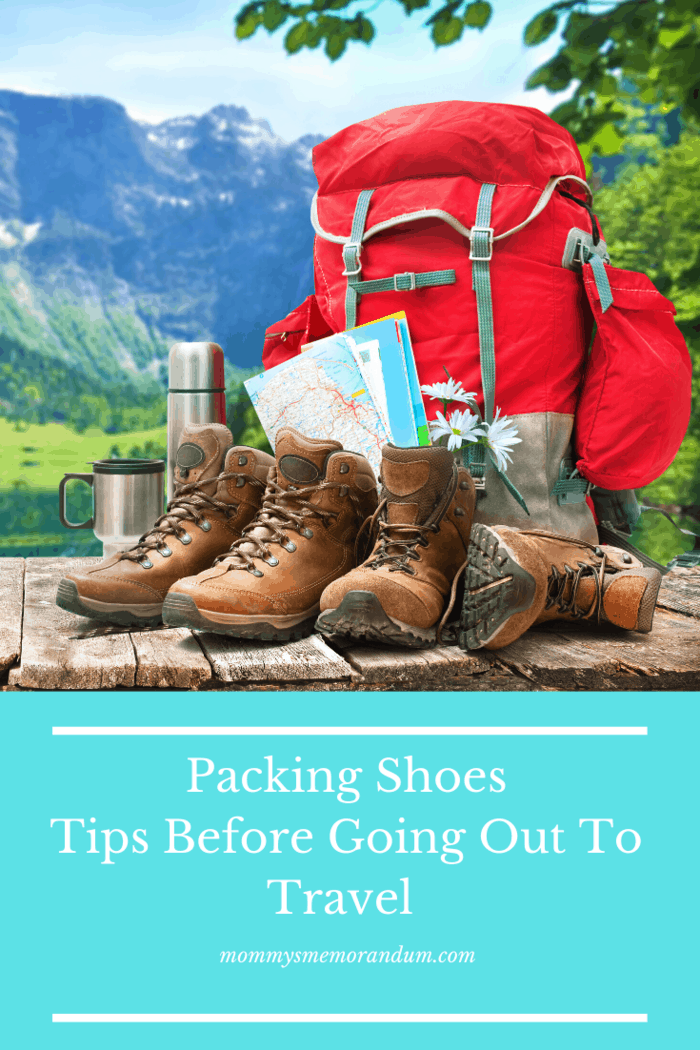 Keep your shoes at the bottom of the luggage.