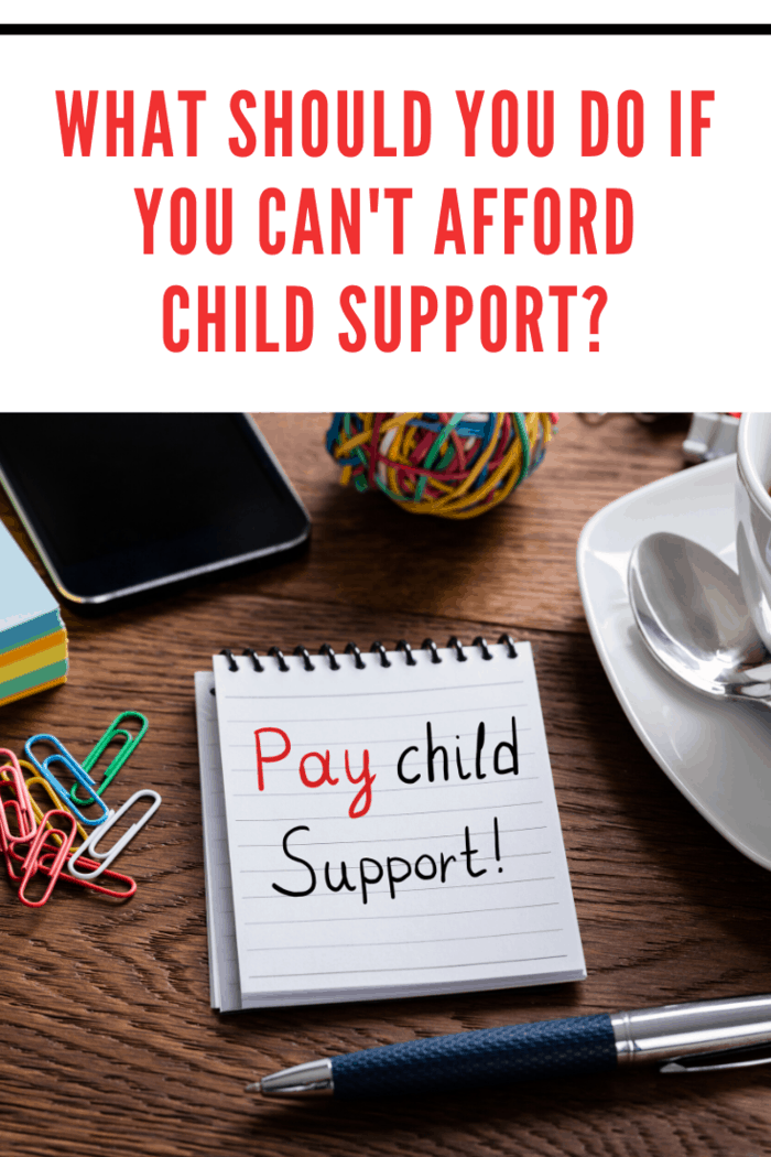 If your inability to pay is the result of job loss, disability, or illness, then you can also talk to your ex about potentially modifying your child support agreement to reflect your new income.