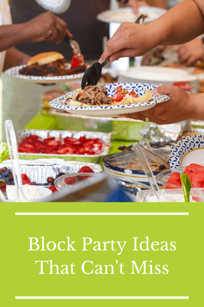 If it's a little too cool for getting wet, consider organizing a potluck!