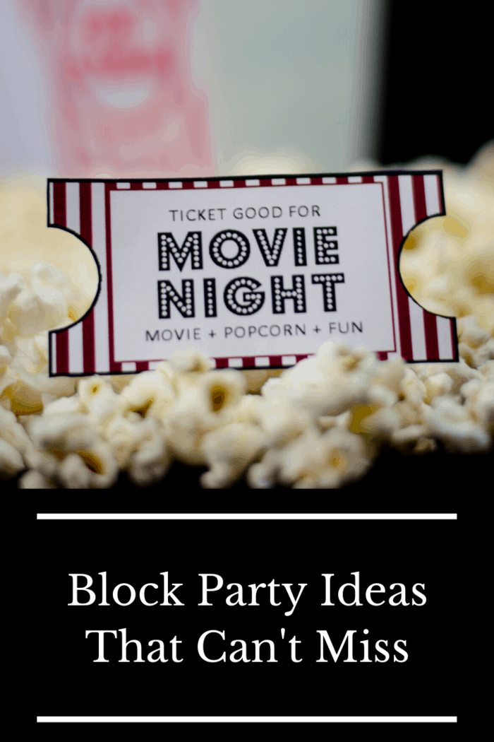 If you or one of your neighbors owns a projector, anoutdoor movie eventis one of the best ways to give everyone a night to remember.