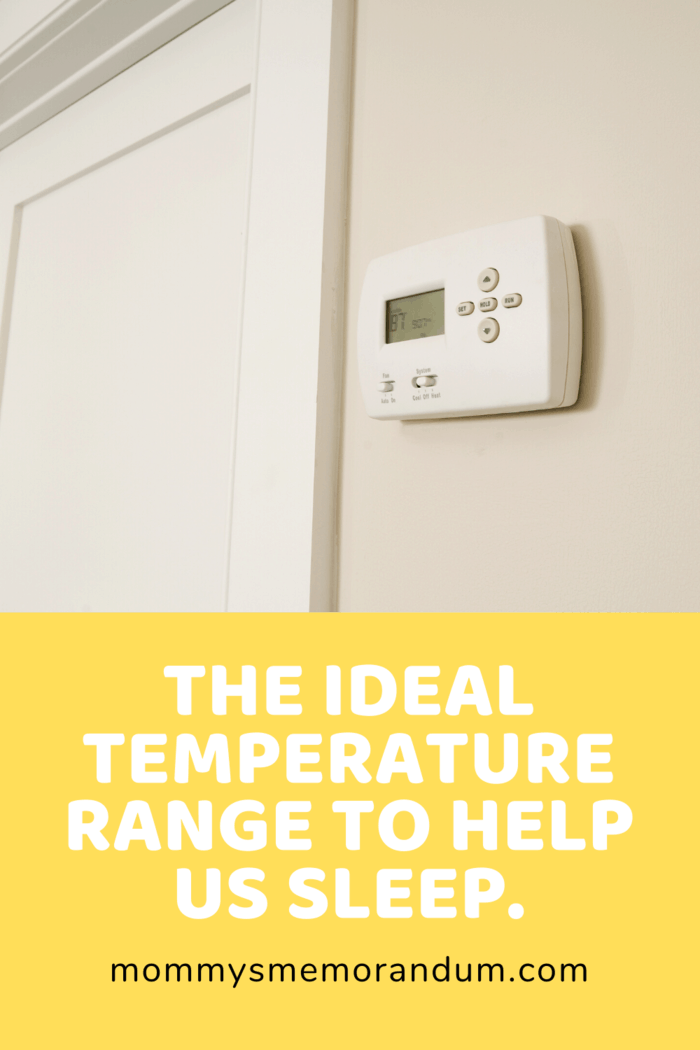 thermostat on wall
