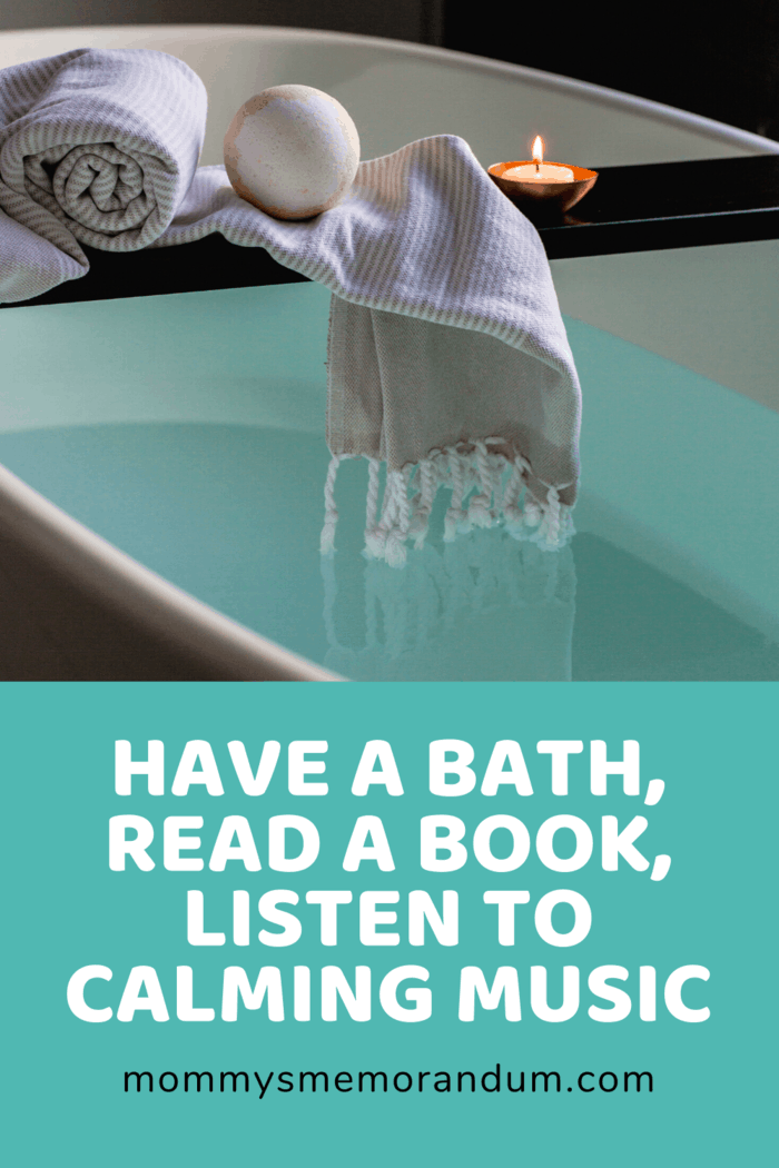 bath with washcloth coming out of water