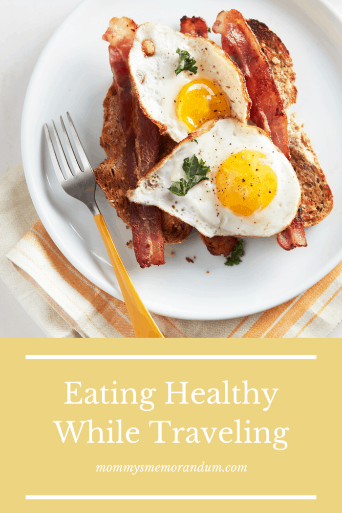 If you don't have time to make breakfast at home, look for healthy alternatives at restaurants.