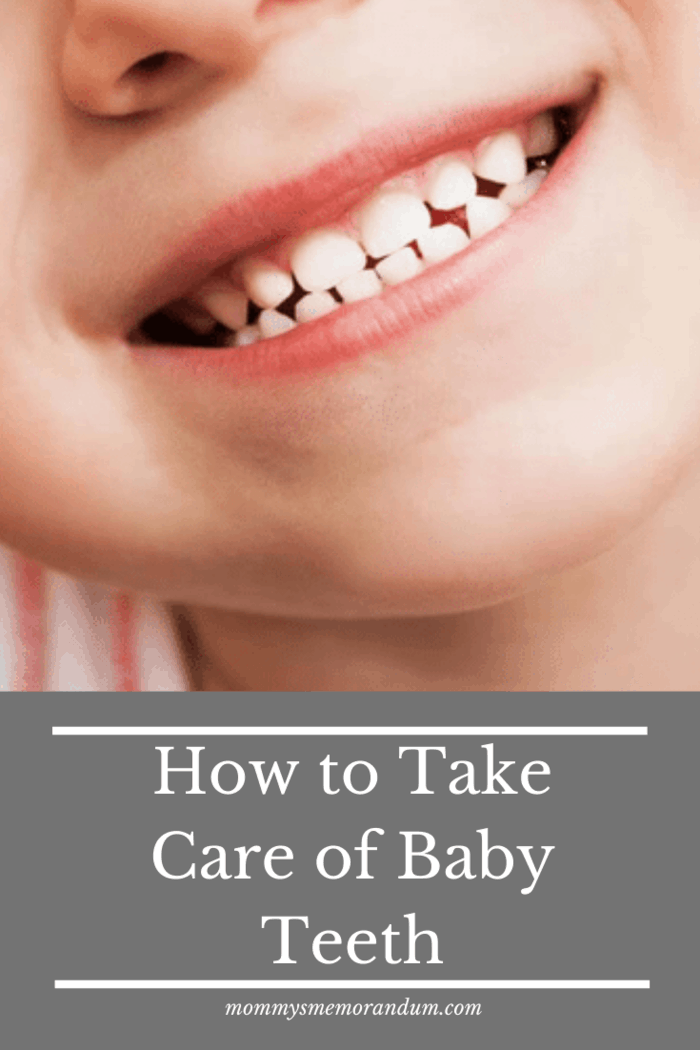 Parents should be careful with their baby's teeth because care at an early stage would be beneficial for the baby's later stages of teeth development.