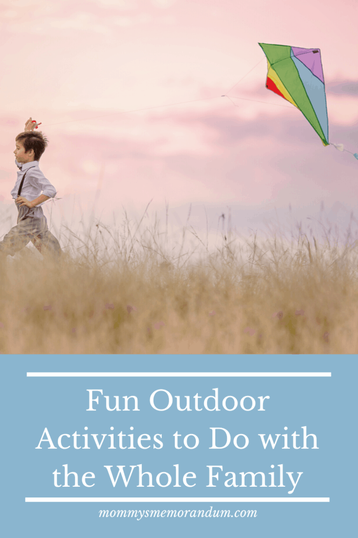 fun outdoor activities to do with the family: go kite flying