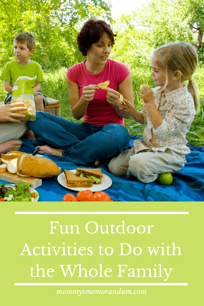 fun outdoor activities to do with the family: Have a picnic