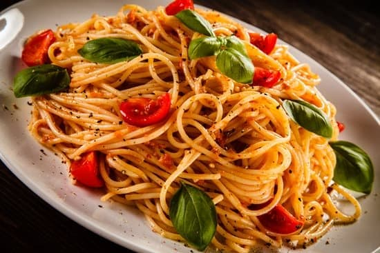 Mouth Watering Food Photography of plate of pasta