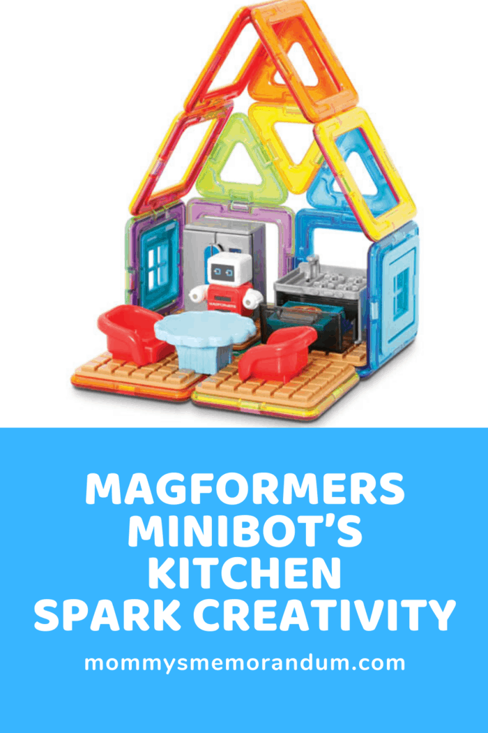 The Magformers – Minibot's Kitchen has become a household favorite toy.