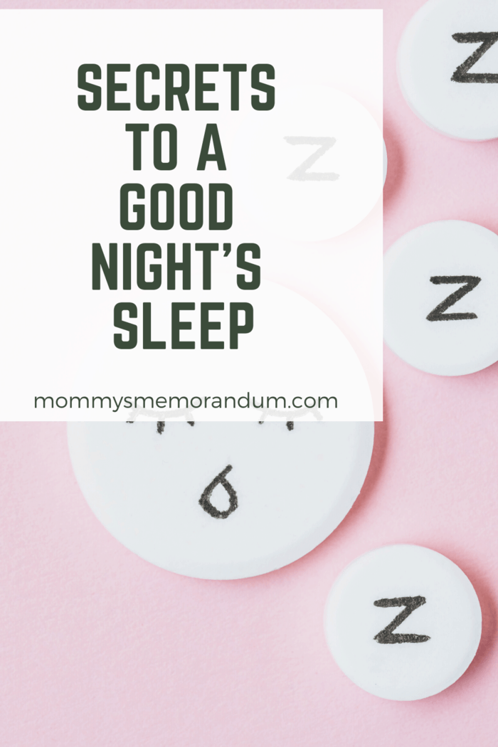 There's no complicated science to avoiding all these even with a good night's sleep.