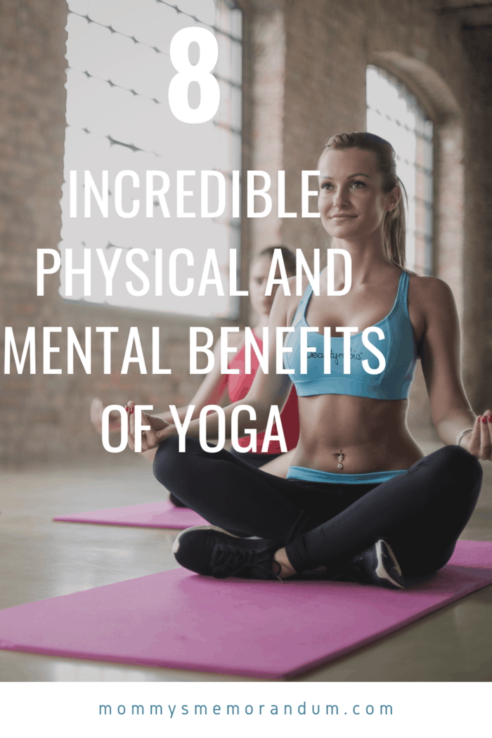 Regular yoga can help you improve your physique.