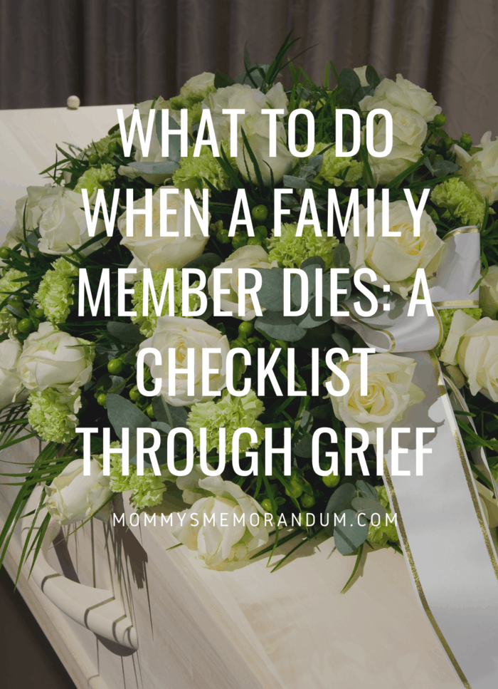 As hard as this is going to be, if they were an organ donor, you need to inform the hospital staff right away. #death #funeral #family #grief