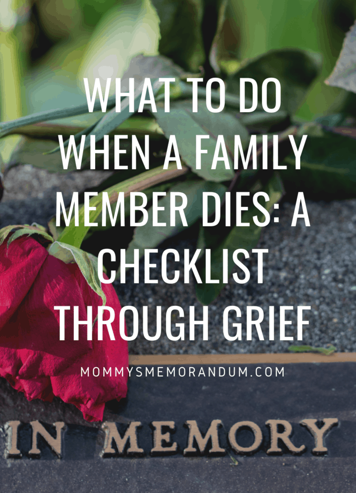 You've received a call that's never pleasant for anyone to get it's hard when a family member dies. #death #funeral #family #grief
