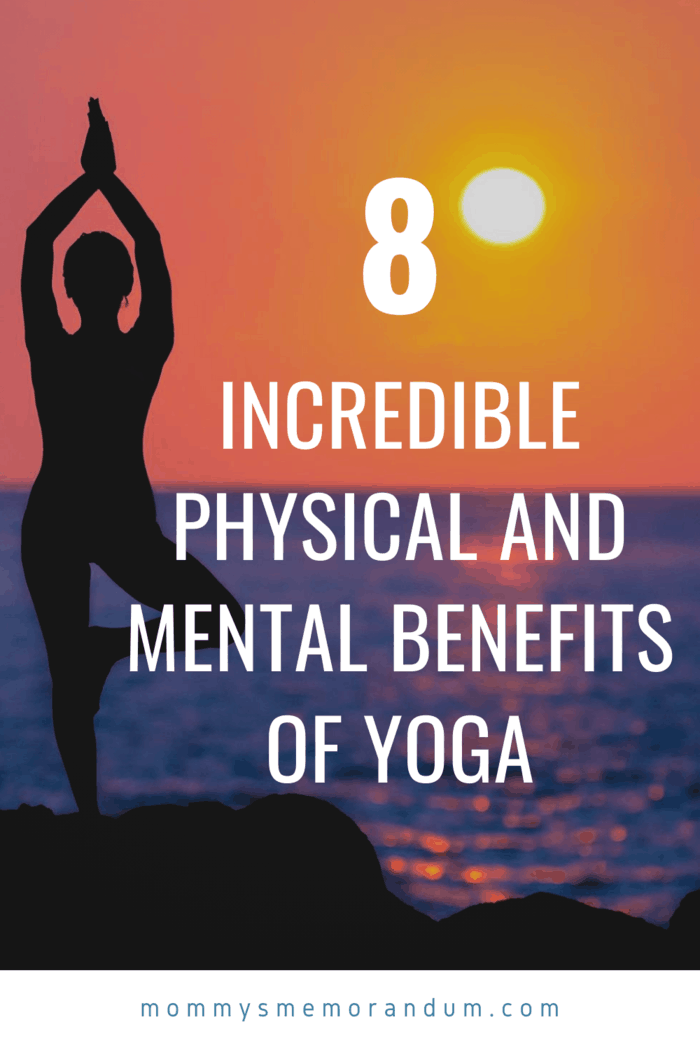 Yoga poses require you to focus on your breathing.