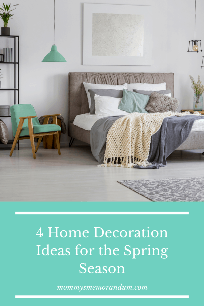 Some of these colors, such as ivory, light pink and robin's egg blue are not only fitting for spring, but you can also keep them around for the summer, where cooler colors are welcome.