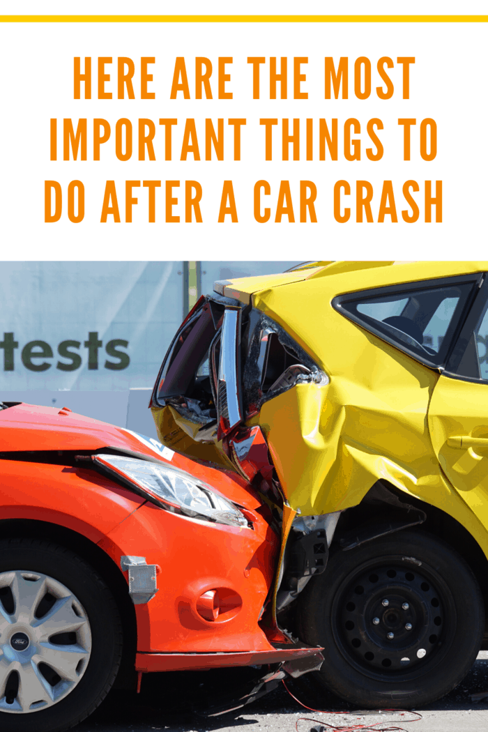 Car accidents are not pretty, but they are also not unique. Here are the most important things to do after a car crash.