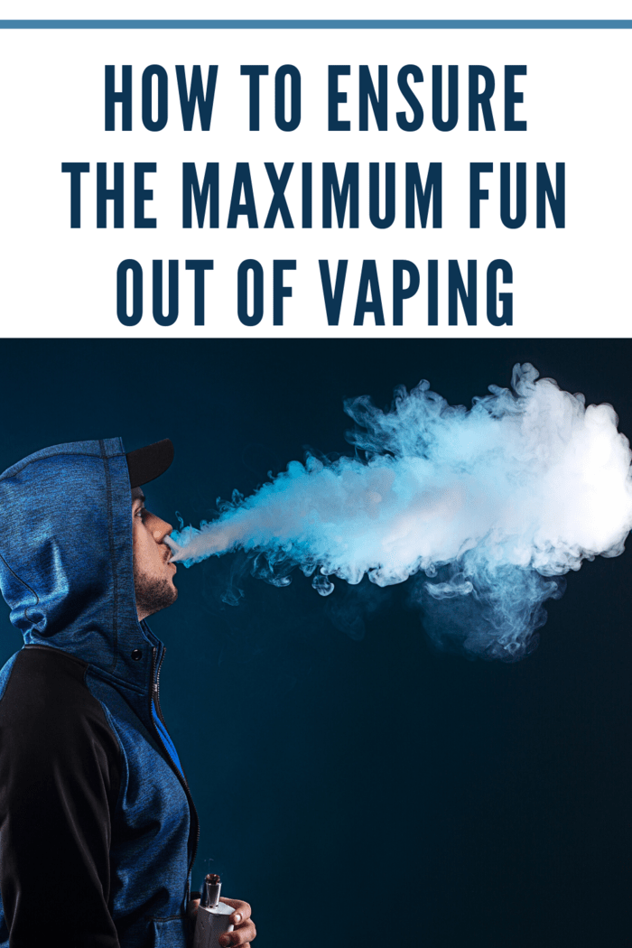 Hence, to ensure that you can gain maximum fun out of vaping, you need to live by the following rules while vaping: