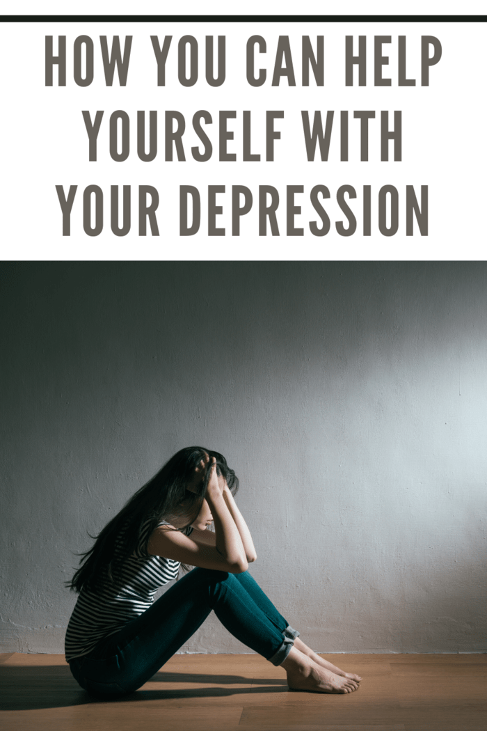 Anyone who's suffering from depression can benefit from a few simple things.