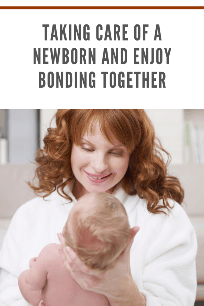Bonding is probably one of the most pleasant parts of caring for a baby; this takes place at a sensitive time in the first hours and days after birth.