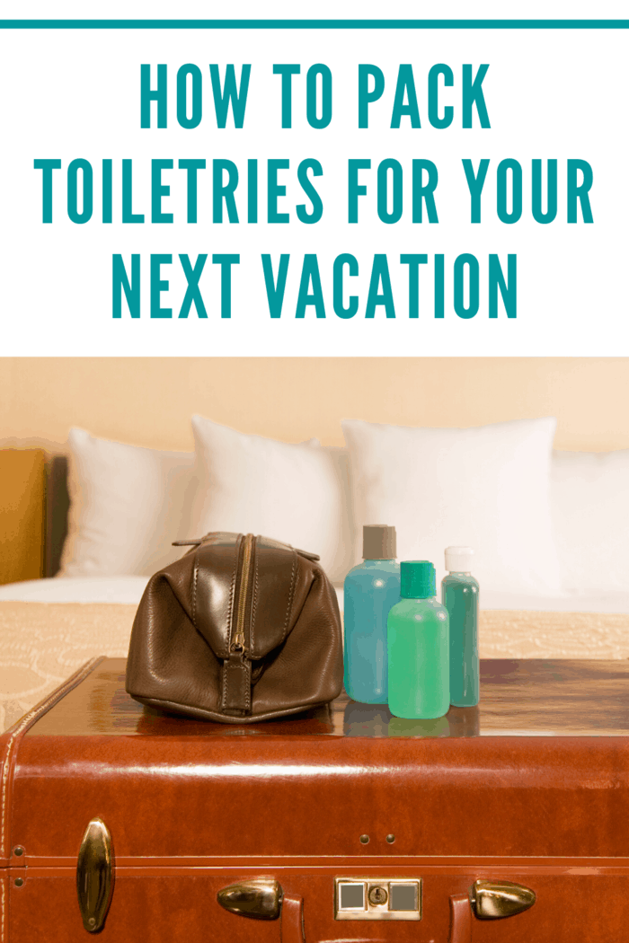 Toiletries after defined as items used to wash and take care of your body, such as toothpaste, soap, and shampoo.