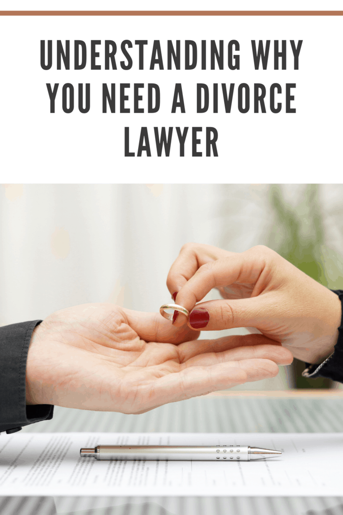 woman giving husband back wedding ring after choosing the right divorce lawyer