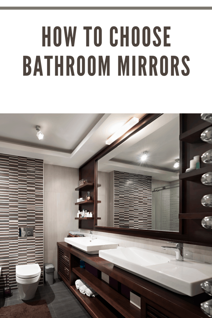 Since bathroom mirrors come in a variety of shapes, sizes, and types of frames, you might want to do some research upon the kind of frame that you are looking for.