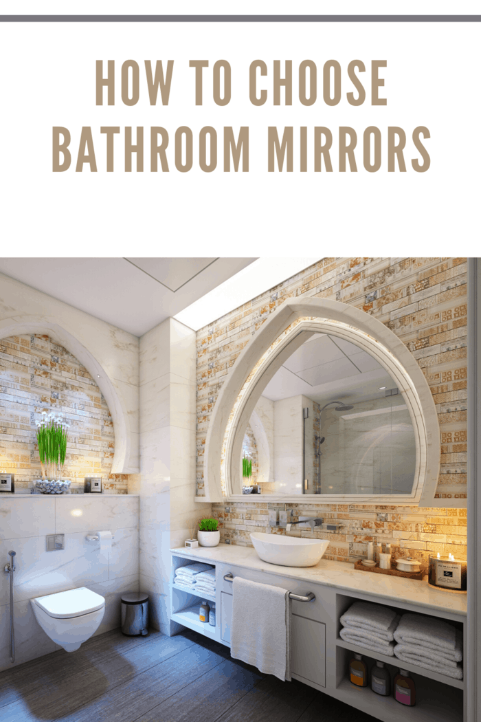 You must examine your space and surface area where you would want to put the mirror up.
