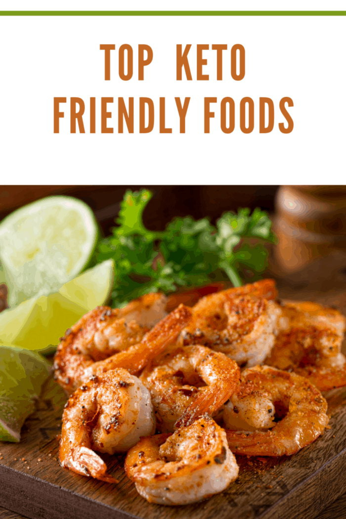 cooked shrimp with lime