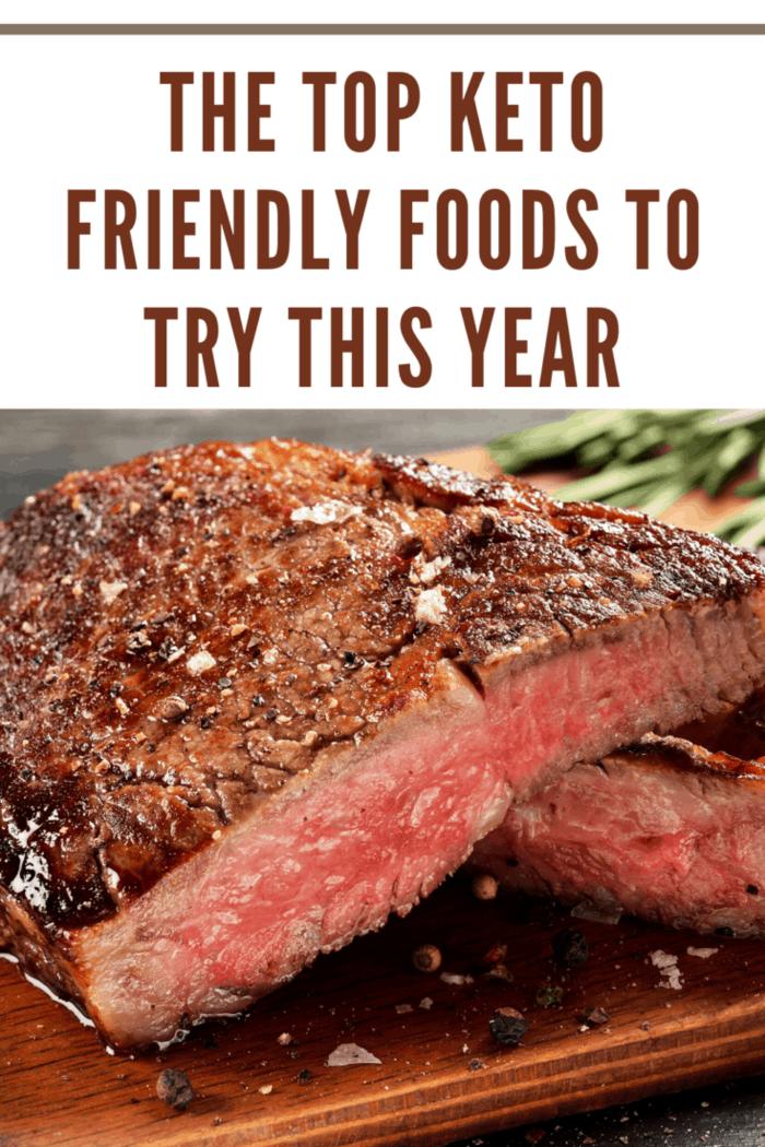 medium rare steak cut