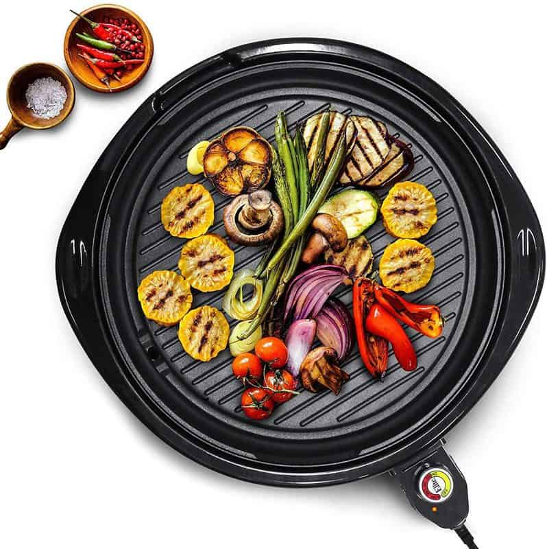 Looking for an indoor grill that can handle different textures and thickness is important.