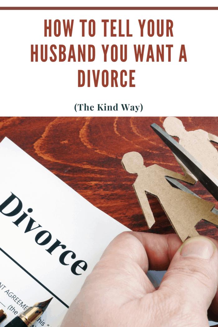 we are going to give you some tips about how to tell your husband that you want a divorce without sounding malicious or angry.