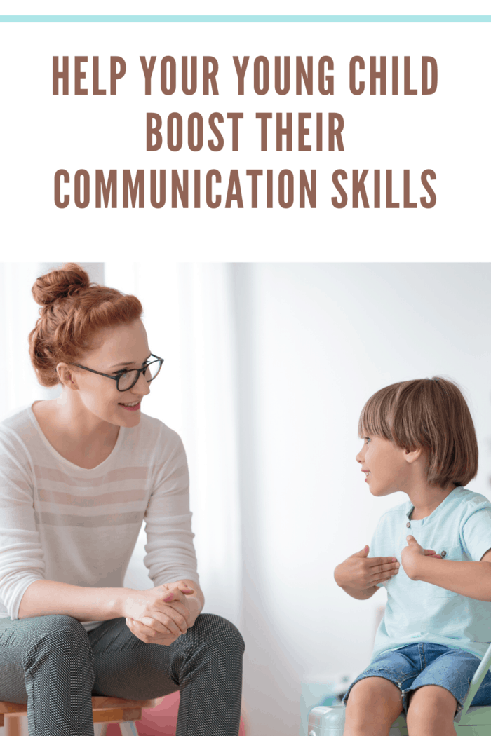 mother listening to son as he talks helping boost communication skills