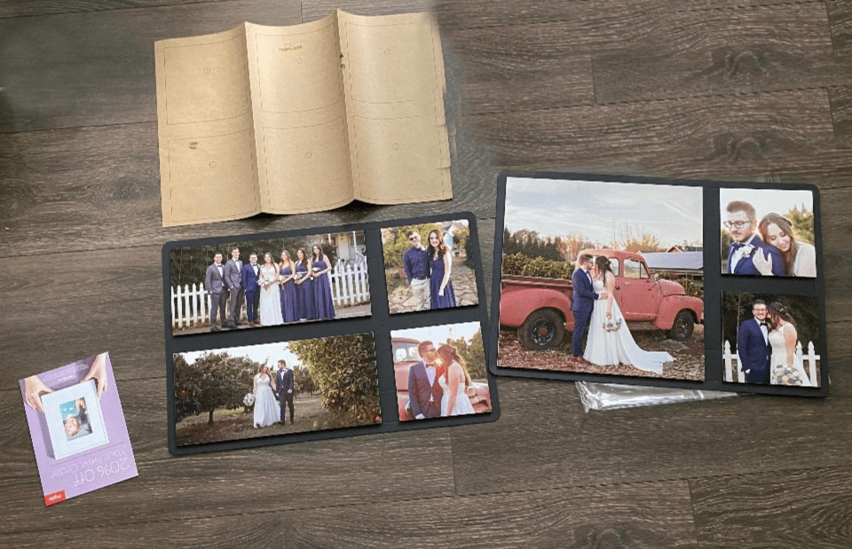 what's included in mpix collagewall