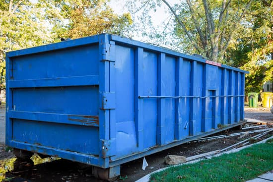 blue dumpster rental