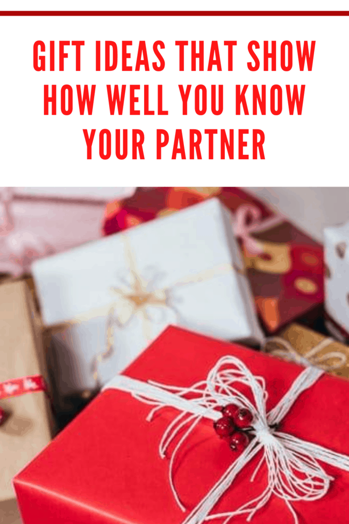packages wrapped in red and white paper and tied with pretty ribbons