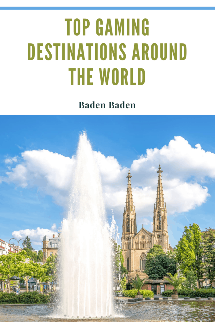 Augustaplatz, Baden-Baden a top gaming destination