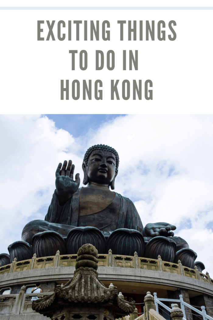 Tian Tan Buddha one of the many things to do in hong kong