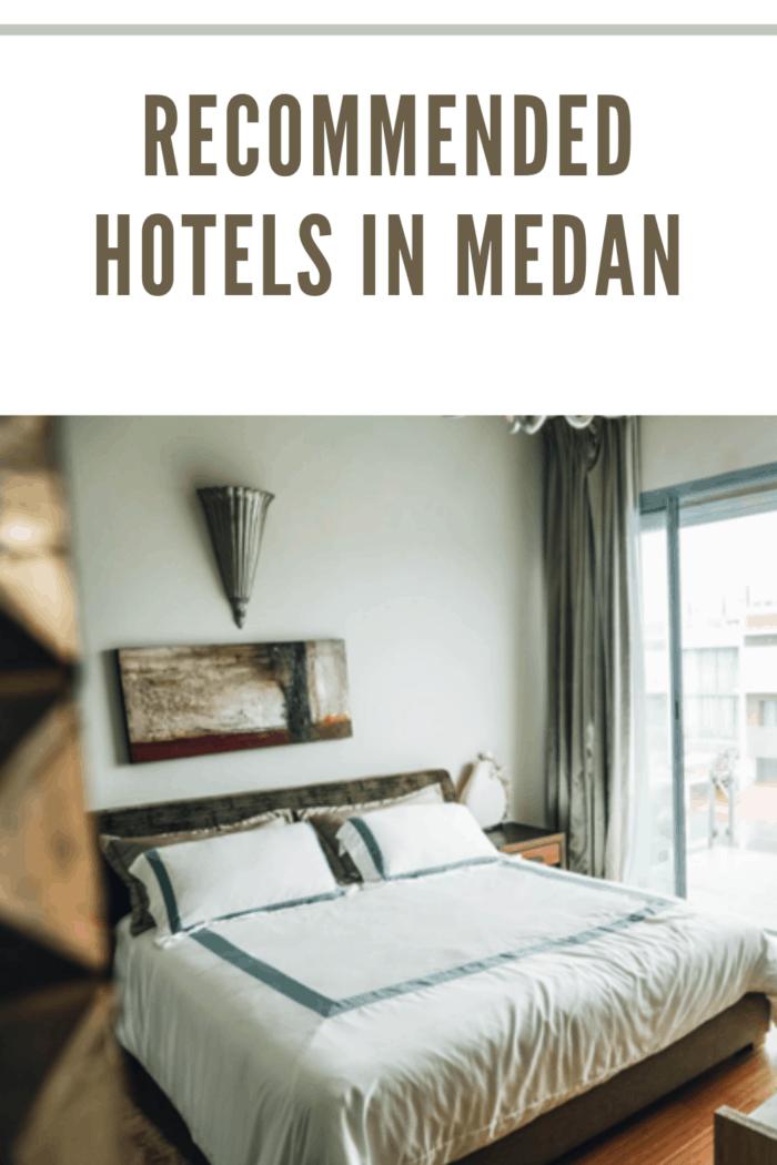 bed at a sheraton hotel in medan