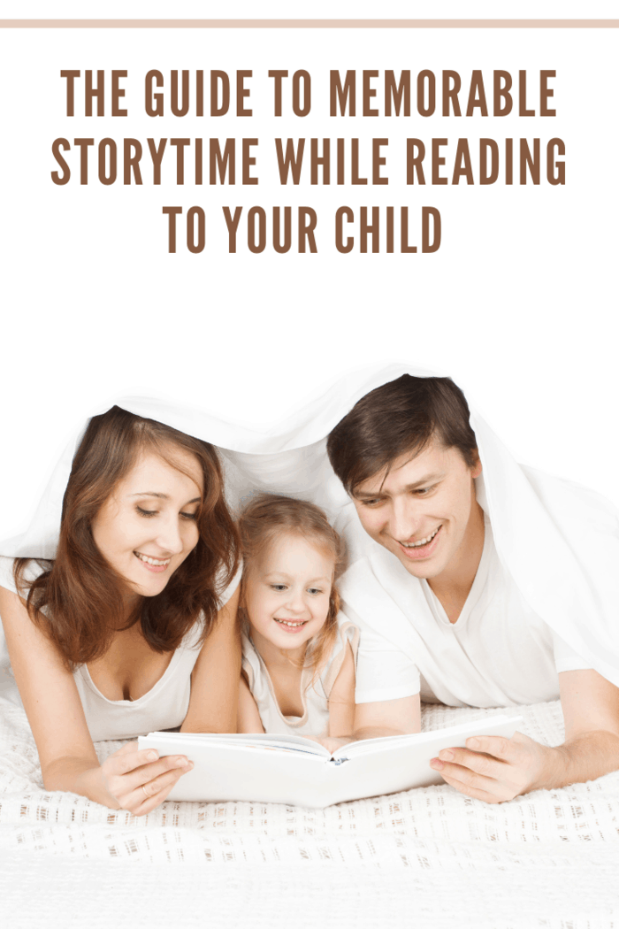 Family Reading Book, Parents Father Mother and Child Read Books, White Background